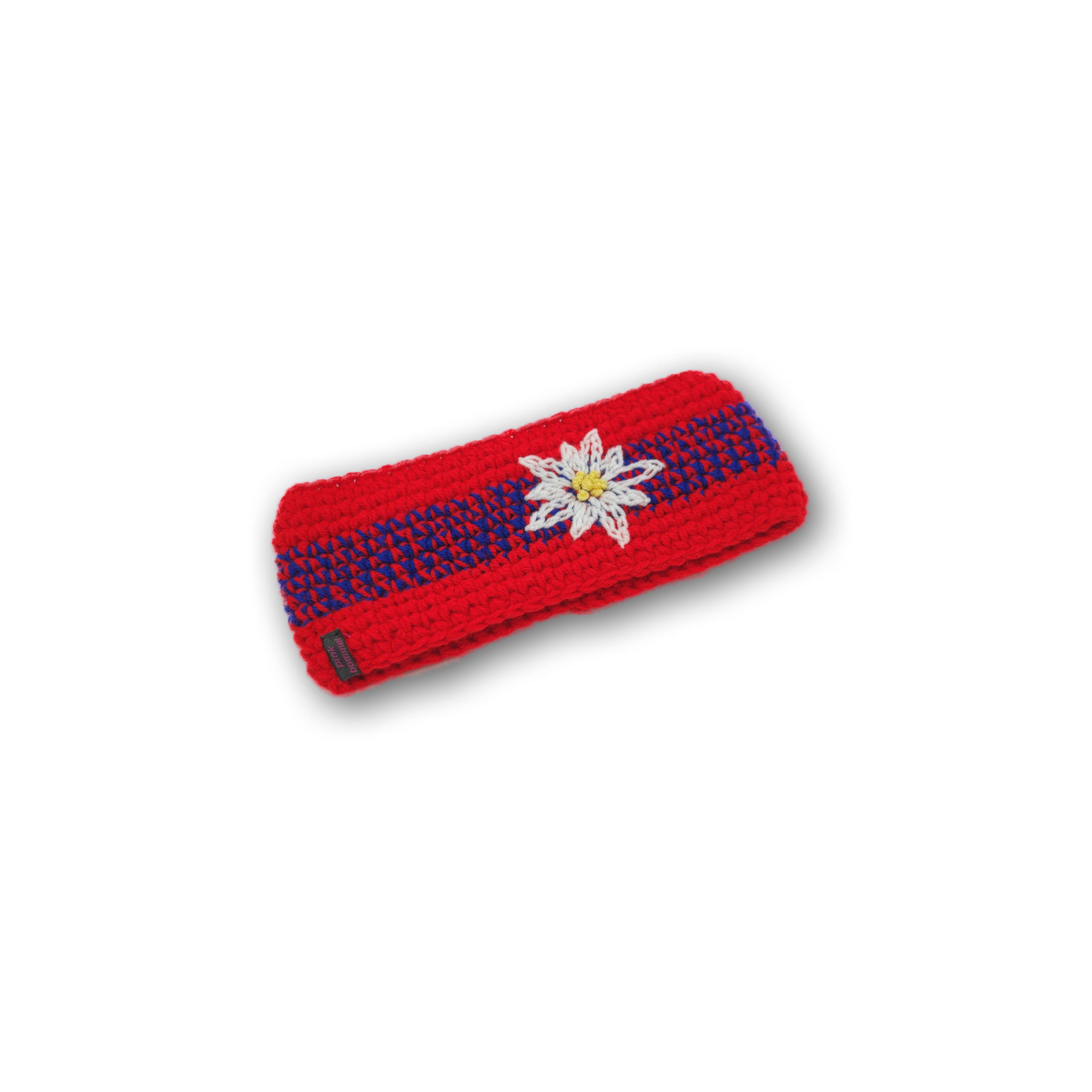 edelweiss stirnband handmade